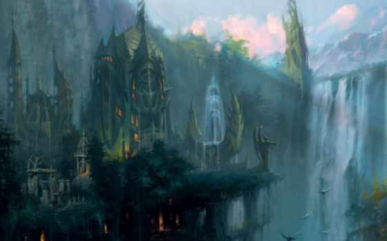 fantasy, heroes, world, эльфийский, art, dungeon, empires, annihilated, game, concept,