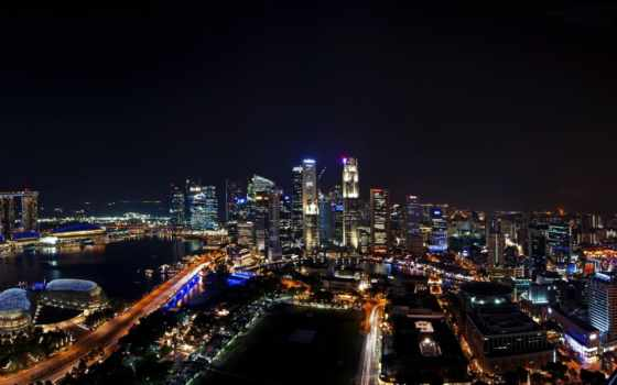 hideho, tropkillaz, singapore, города, ди, городские, cittђ, широкоформатные, город, закат,