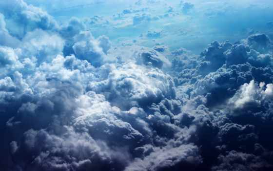 облака, небо, blue, heaven, космос, красивые,