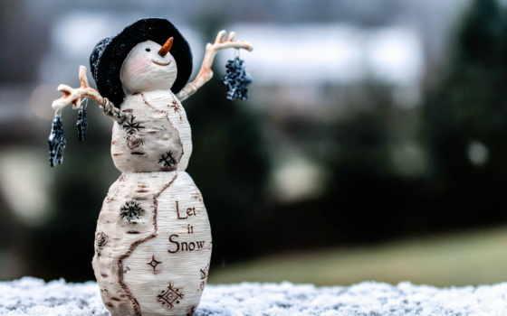 снег, улыбка, winter