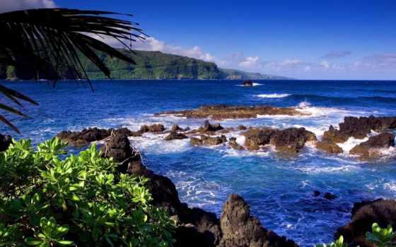 ocean, коллекция, desktopwallpape, картинок, море, берег, природа,