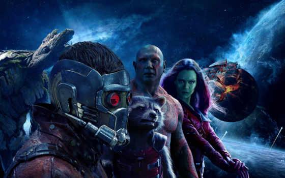 галактики, стражи, часть, guardians, galaxy, фильма, стражей, vol, дата, сниматься,