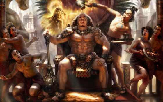 ацтеков, лидер, боги, мая, солнца, тонатиу, creator, муан, спина,