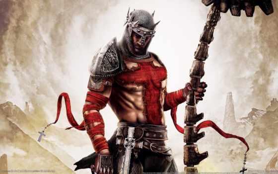 art, игры, воин, данте, кросс, герой, inferno, armour, кольчуга,