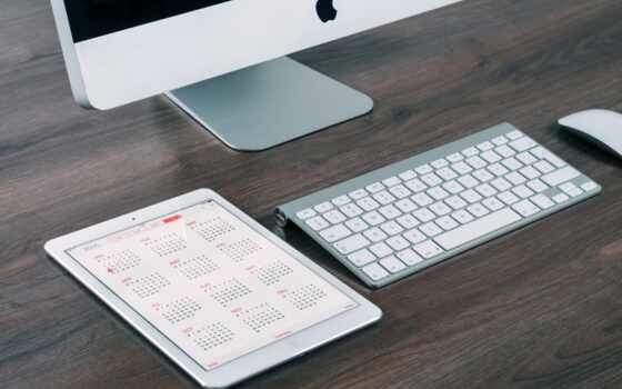 imac, apple, газета, ipad, моноблок, два, тренировочный, institution, модель