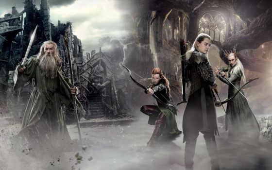 hobbit, эльфы, смауг