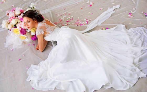 невеста, платье, свадебный