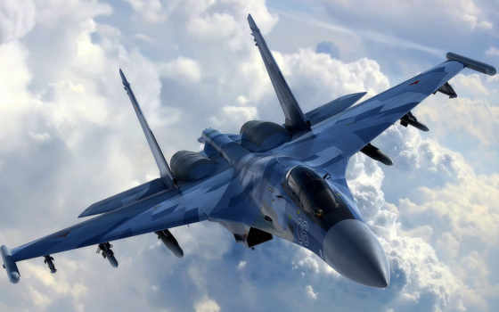 sou, авиация, техника, качестве, самолёт, хорошем, сверхманевренны, су, многоцелевой,