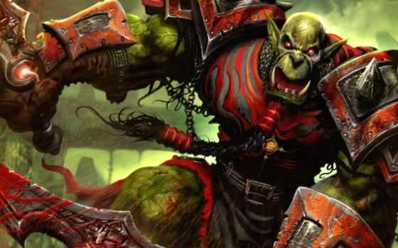 orc, warcraft, world