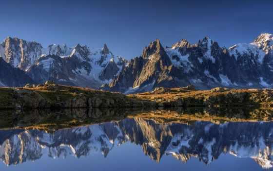горы, озеро, pin, pictures, природа, места, landscape, великолепные,