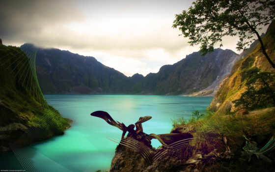 fantasy, море, озера, мертвое, mount, моря, landscapes, exotic,