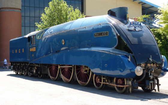 mallard, lner, локомотив, class, steam, паровозов, world, record, скорости,