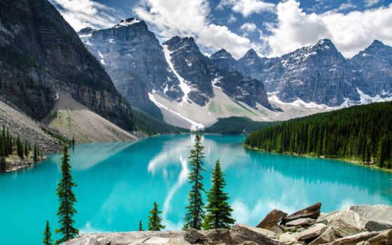 озеро, moraine, national Фон № 121925 разрешение 2880x1800