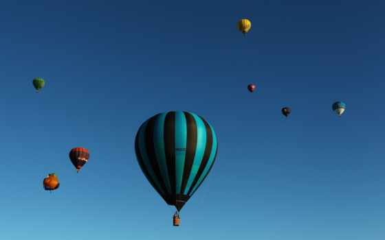 balões, cielo, céu, desktop, globo, sports, небо, best, pantalla,