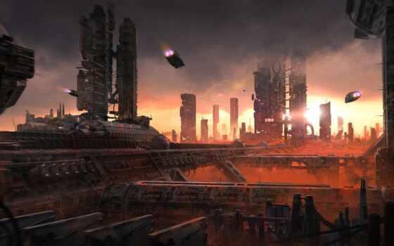 one, studio, небоскрёб, movie, ван, доминик, красивый, город, scus, ark