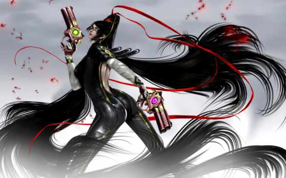art, witch, bayonetta,