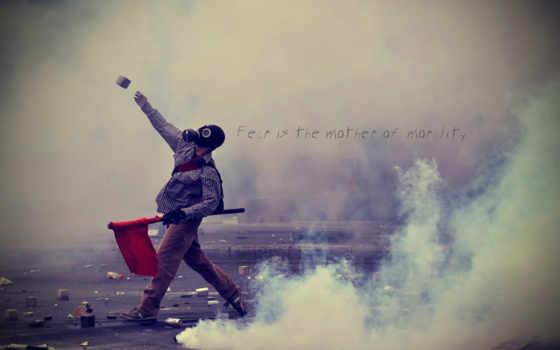 riots, greece, дым, газовый, desktop, девушка,