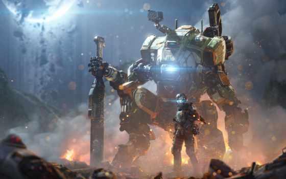 titanfall, игры, game, robot, everything,