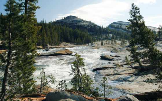 paisajes, montañas, ríos, fondos, forestales, nubes, cielo, pantalla, rboles, naturaleza,