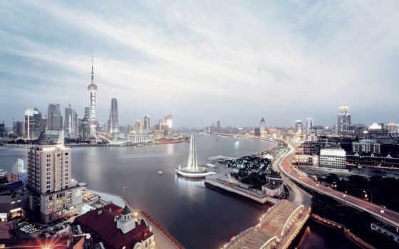 china, shanghai, бизнеса