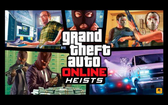 gta, online, heists