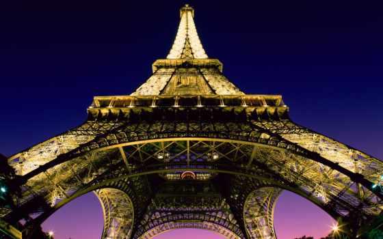 eiffel, башня, париж, франция, french, turret, эйфелева, города, схемы,