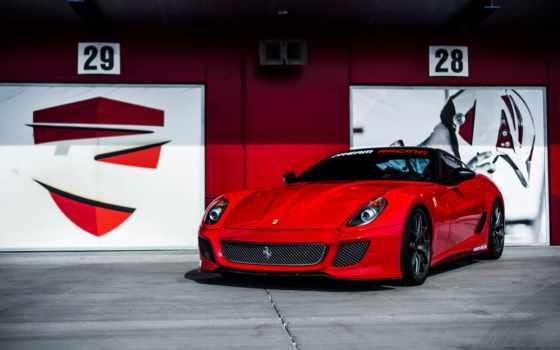 автомобили, ferrari, red, изображение, картинка, pininfarina, ретро, desktop, gto,