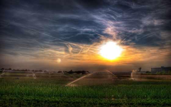 sun, вечер, весна, vanderburgh, уезд, swcd, заставки, день,
