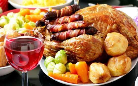 potatoes, carrots, wine, bacon, dinner, жареная, гарнир, курица, картофель, морковь,