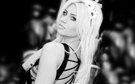 чёрно, белое, blonde