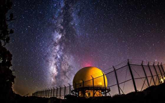космос, ночь, звезды