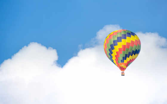hot, air, balloon, небо, stock, blue, free, фото, balloons, colorful,