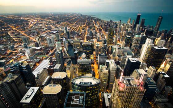 chicago, desktop, город,