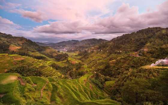 philippines, горы, природа, панорама, растительность, взгляд, пейзажи -, сверху, imgator, филиппин,