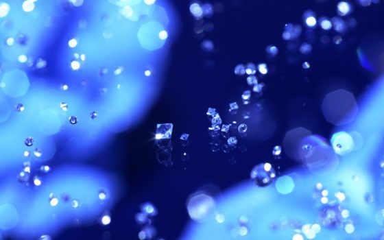 бриллианты, россыпь, синий, diamond, картинка, синее, рисованное, crystal, графика, любителям, must, холявных, софтин, punkte, blaue,