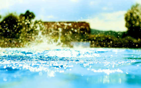 вода, брызги