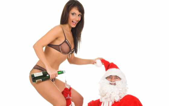 christmas, sexy, girls