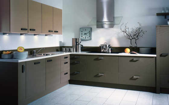 кухни, dizain