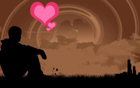 скучаю, сердце, любви Фон № 101158 разрешение 1920x1200