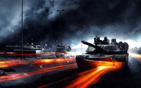 battlefield, танки, картинка