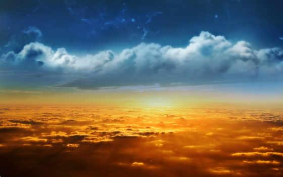 oblaka, природа, ukraine
