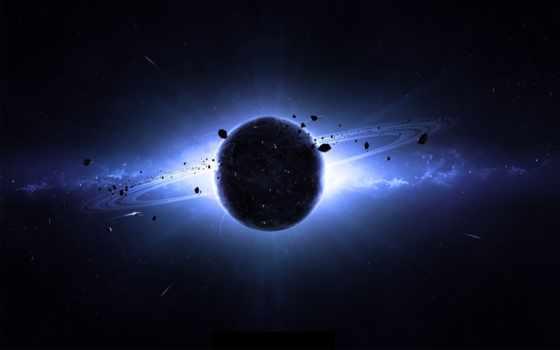 galaxy, cosmos, planet, астероиды, звезды, свечение, корабли, кольца,