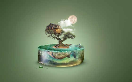 free, illustration, desktop, images, world, art,