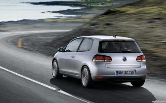 golf, volkswagen, vw, door, vi, angle, rear,