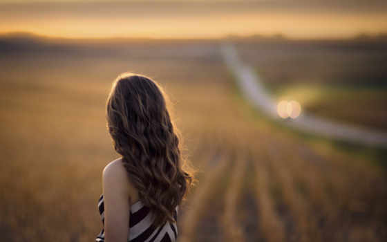 waiting, you, природа, поле, одиночка, красавица, женщина, модель, женский, lady,