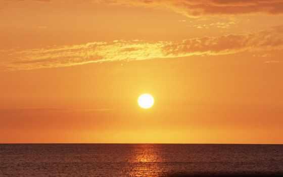 закат, hawaii, пляж,