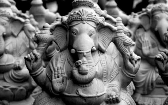 ganesha, lord, ganesh, idols, clay, desktop,