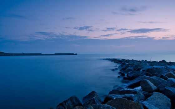 мар, скалы, ocean, природа, paisagem, noite, достопримечател, pebbles, самый, papel,