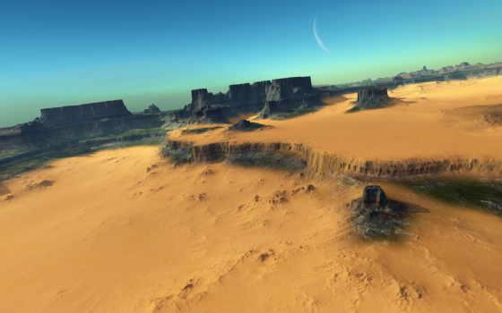 пустыня, горы, песок Фон № 170681 разрешение 1920x1200
