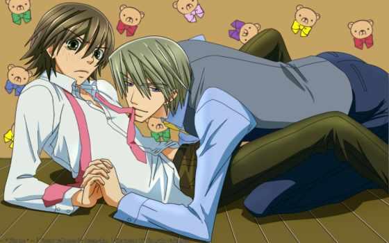 аниме, романтика, чистая, romantica, junjou, обои,